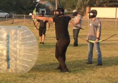 Fun with Arrows - Bumper Ball Canada (1)