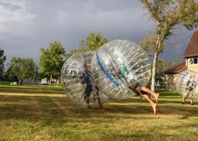 Fun with bumper ball 3